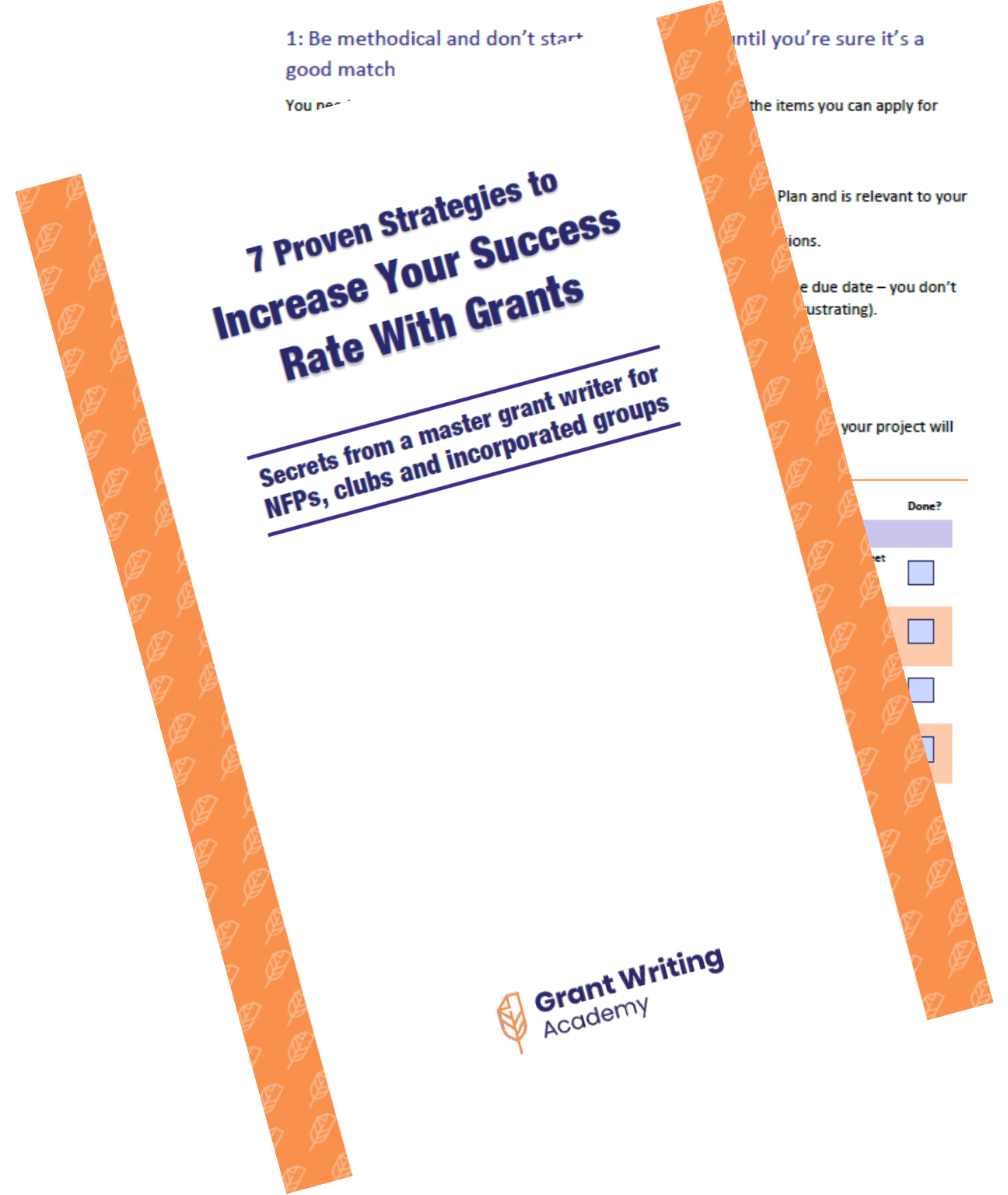 7 Proven Strategies to increase your success rate with grants